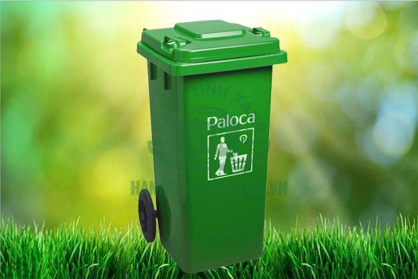 thùng rác nhựa 120l chất lượng