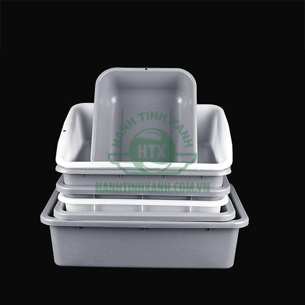 Các loại khay nhựa thay thế dùng trong xe dọn bàn
