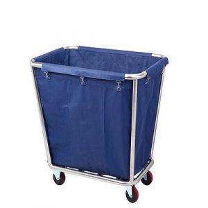 Xe giặt là khung inox túi vải bạt xanh tốt nhất thị trường