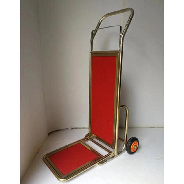 Loại xe đẩy hành lý này được sử dụng nhiều tại các resort, khách sạn...cao cấp