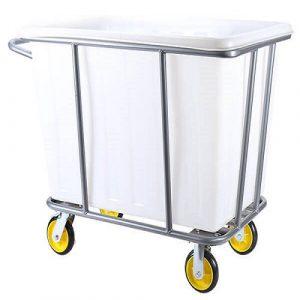 Xe giặt là khung sắt thùng chứa đồ bằng nhựa