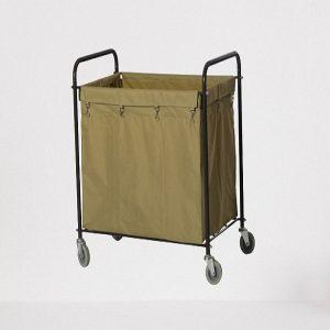 Xe giặt là khung thép phun sơn túi vải bạt nâu