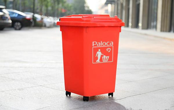 Thùng rác nhựa công nghiệp 60l được sử dụng rộng rãi