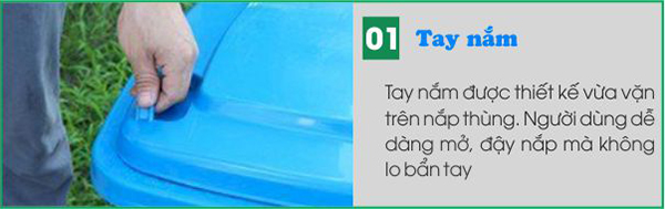 tay nam thung rac 60l