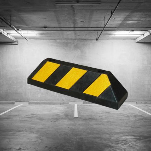 Chặn lùi bánh xe - Cục chặn sau xe - Cục chêm bánh xe ô tô tải, buýt