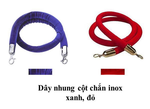 Các loại dây nhung phổ biến hiện nay