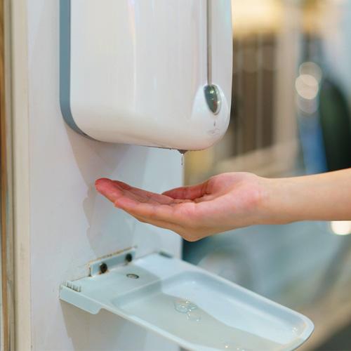 Hộp đựng nước rửa tay inox - Hộp đựng nước rửa tay treo tường Hà Nội