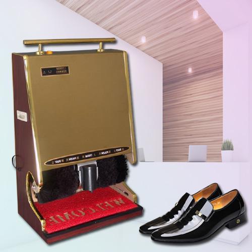 Máy đánh giày tự động - Máy đánh giày văn phòng - Máy đánh giày gia đình