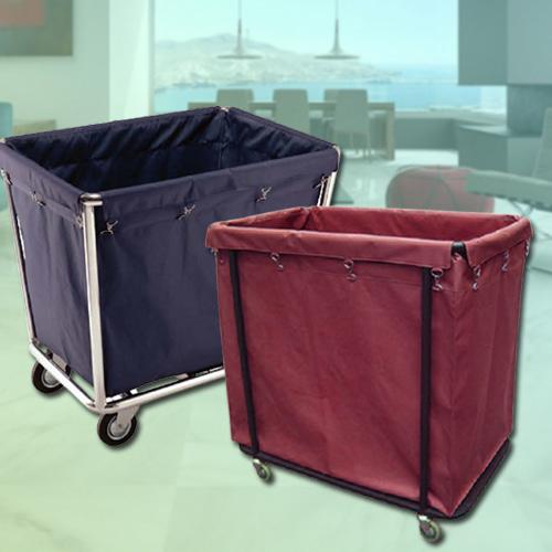 Xe giặt là - Xe chở đồ giặt là khách sạn - Xe thu gom đồ vải khách sạn